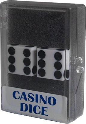Precision 19mm Casino (Dice 2-Pack White Precision 19mm (Casino))