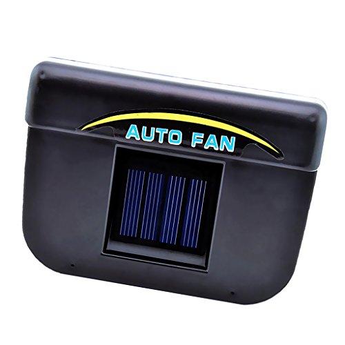 Jili Online Solar Powered Car Auto Air Vent Cool Fan Cooler Ventilation Radiator System