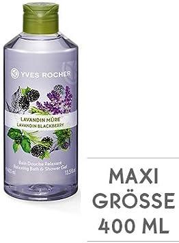 Yves Rocher Douche de Lavande de bain Mûre 400 ml: Amazon