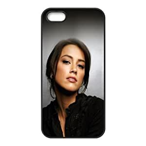 iPhone 5 5s Cell Phone Case Black Amber Heard Sexy Girl Face VIU104512