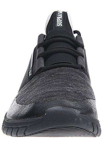 Supra Flow Run Uomo Black Sneaker Multi Black rrOpwq