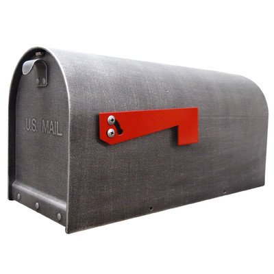 Titan Post Mounted Mailbox with Rain Overhang Finish: Oil Rubbed Bronze