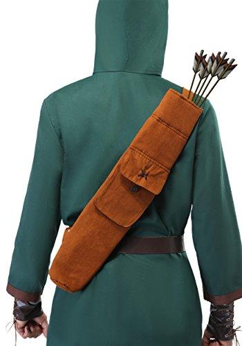 (Fun Costumes Robin Hood Quiver Standard Brown)