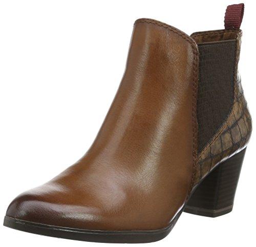Estar Casa 410 Mujer Tozzi ANTIC COGNAC Marrón para Braun Marco Premio Zapatillas de 25385 por zwgn6q06X1