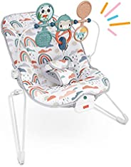 Fisher Price Baby Cadeirinha Diversão no Arco-íris Branco