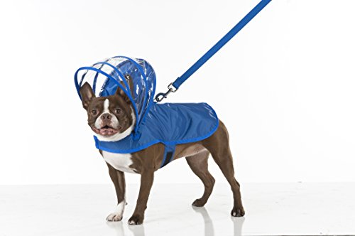 Dog Raincoat Royal Blue by Push Pushi
