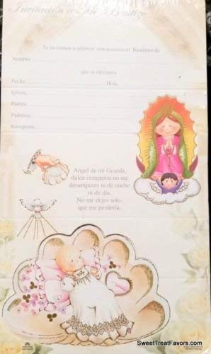 amazon com dpw baptism bautizo christening party invitations