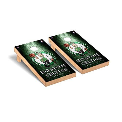 Victory Tailgate Boston Celtics NBA Basketball Regulation Cornhole Game Set Museum Version