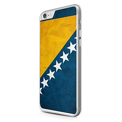 Bosna Bosnien iPhone 6 Hülle Cover Case Schutz Bosnia Flag Flagge