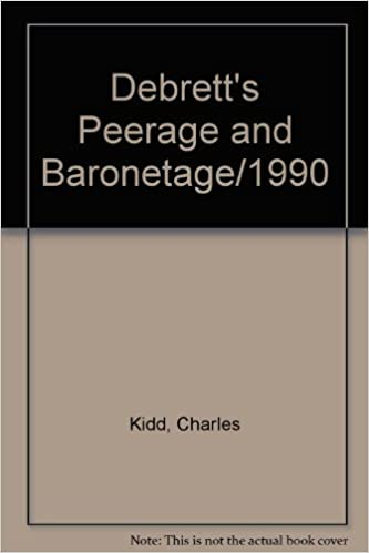 Debrett's Peerage and Baronetage/1990