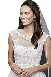 Passat Sparkling Rhinestone Edged Cathedral Wedding Veils For bridal 223