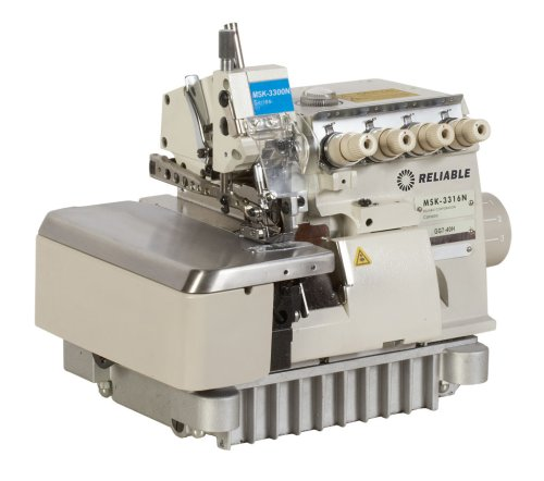 Reliable MSK-3316N-GG7-40H 3/5-Thread High-Speed Safety Serger with Fully-Sub Table and SewQuiet Servo Motor by Reliable