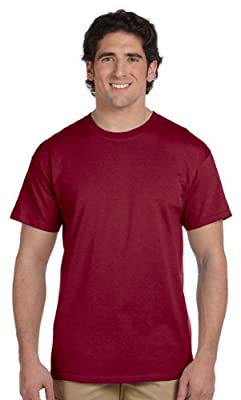 Gildan Men's Crewneck Short-Sleeve T-Shirt, ANTQUE CHERRY RED, XXXX-Large. G200