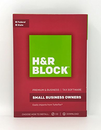 Hr Block R  Premium Business 2017 Tax Software  Traditional Disc