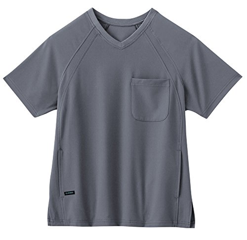 classic-fit-collection-by-jockey-mens-pull-on-scrub-top-x-large-pewter