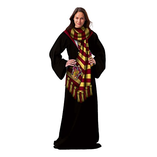 Harry Potter, Winter Pott Adult Comfy Throw with Sleeves, 48
