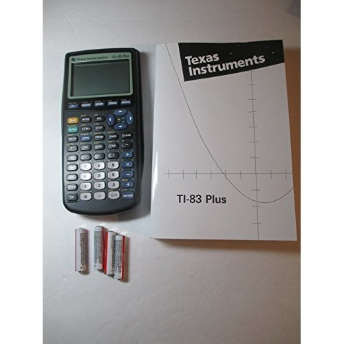Texas Instruments TI-83 Plus Graphing Calculator and TI-83