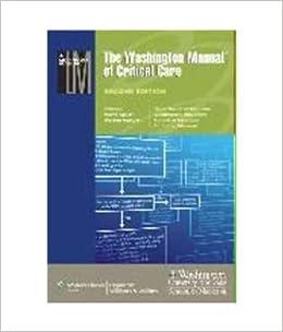 Washington Manual Of Critical Care 2nd Edition Pdf