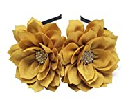 Fascinator Headband Hair Clip Lotus Flower Bridal Headpieces Wedding Party Cocktail Headwear