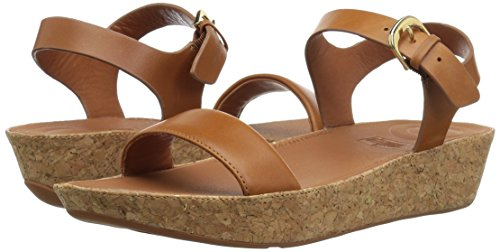 FitFlop Women's Bon II Back-Strap Sandals Medical Professional Shoe, Caramel, 9 M US by FitFlop (Image #6)
