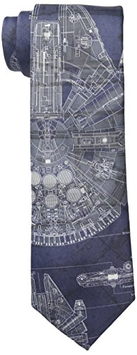 Star Wars Men's Millennium Falcon Tie