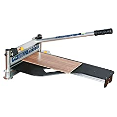 "Designed to cut laminate, solid wood and engineered flooring up to 15mm (5/8""). Will also cut vinyl tile and fiber cement siding such as Hardi Plank. Quiet, dust free operation, no electricity required. Precision cuts with no splintering or c..."