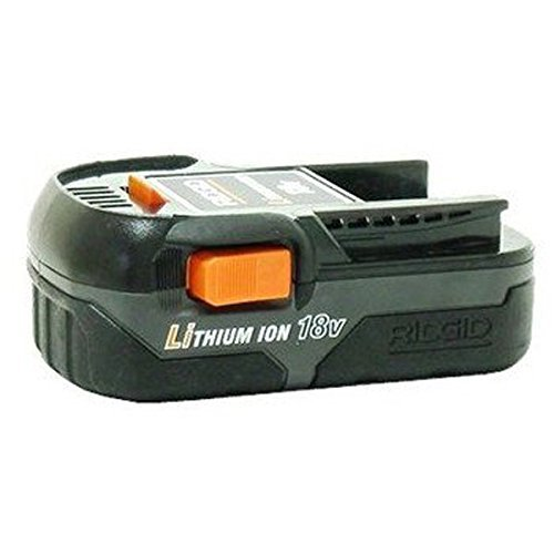Ridgid 130383001 18 VOLT COMPACT LITHIUM ION BATTERY PACK by Ridgid (Ridgid Battery Pack 18v)