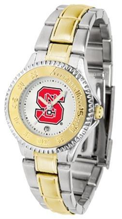 NCSU Wolfpack Women's Two Tone Dress Watch