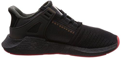Nero Basse Core Scarpe 0 adidas 93 17 da Ginnastica EQT Black Support Uomo nqUnz0