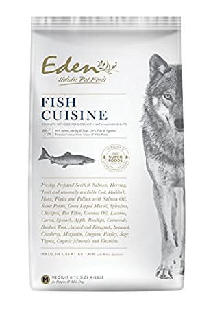 Eden Fish Cuisine Small Kibble 2kg: Amazon.co.uk: Pet Supplies Cuisine Eden on