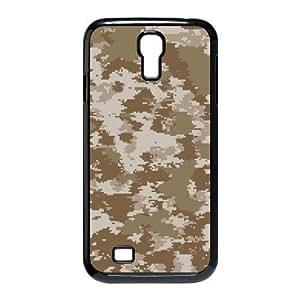 LZHCASE Camouflage Diy Case Shell Cover For Samsung Galaxy S4 i9500 [Pattern-1] WANGJING JINDA