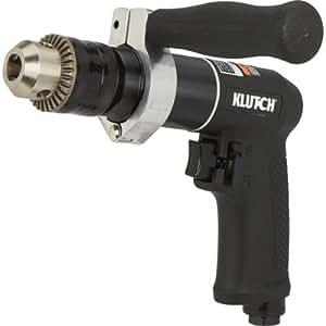 Klutch Air Drill - 1/2in. Chuck, 800 RPM, Reversible, Keyed Chuck