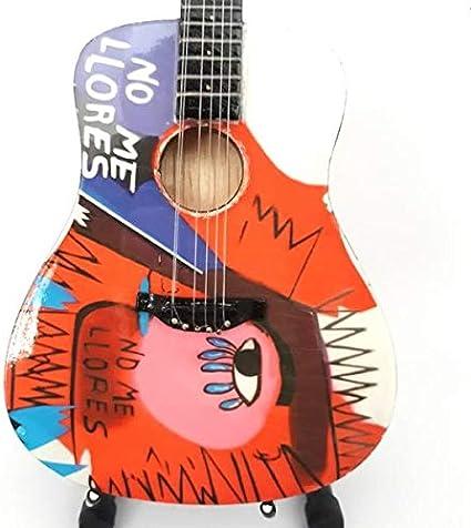 Mini guitarra acústica COLDPLAY pantalla CHRIS MARTIN Viva La Vida ...