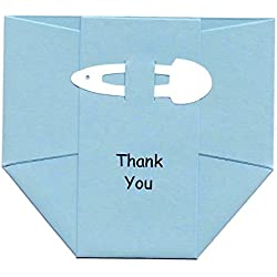 Baby Thank You Cards: Blue Boy Diaper Notes - Best Shower Gift