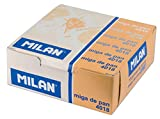 Box of 18 Erasers Bread Miga Milan with Children's Drawings Color White