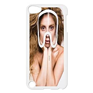 JenneySt Phone CasePopular Singer Lady Gaga Series FOR Ipod Touch 5 -CASE-16