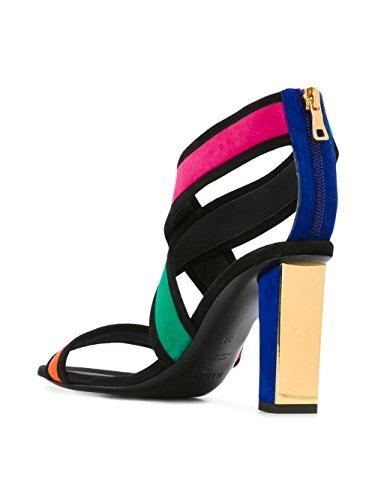 Balmain Mujer S7CSS090804MULTICOLOR Multicolor Terciopelo Sandalias