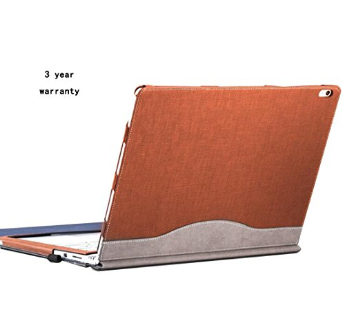 Laptop Executive Case Leather (Laptop Shell Cover Case Sleeve For Microsoft Surface Book 13.5