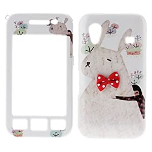 Cartoon Horse Pattern Front and Back Full Body Case for Samsung Galaxy Ace S5830
