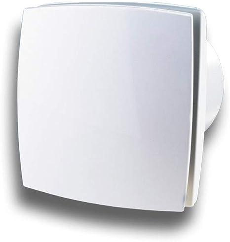 Funktion Standard Wandventilator Abluftventilator Badezimmerl/üfter Badl/üfter Wandl/üfter SILENT pro mit Kugellager System /Ø 150