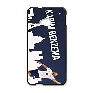 Sports karim benzema france worldcup HTC One M7 Cell Phone Case Black Customized Gift pxr006_5329338