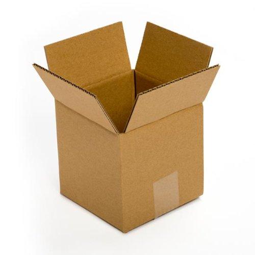 Pratt PRA0006 100PK 100% Recycled Corrugated Cardboard Box, 5