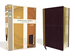 Instantly compare the KJV and Amplified Bible text side-by-side with this large-print parallel Bible. The timeless beauty of the King James Version Bible is placed next to the wealth of amplifications and alternate renderings found in ...