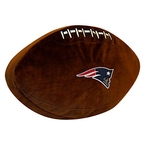 - Officially Licensed NFL New England Patriots 3D Sports Pillow