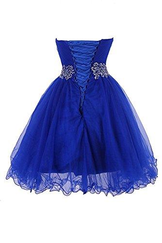 Ausschnitt Ivydressing Promkleid Chiffon 32 Blau Herz Lang Festkleid Schlitz Damen Abendkleider Zn0gI0t