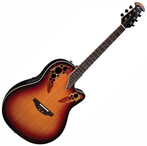 Ovation 2778 AX Standard Elite Deep Contour Acoustic Electric Guitar, New England Burst