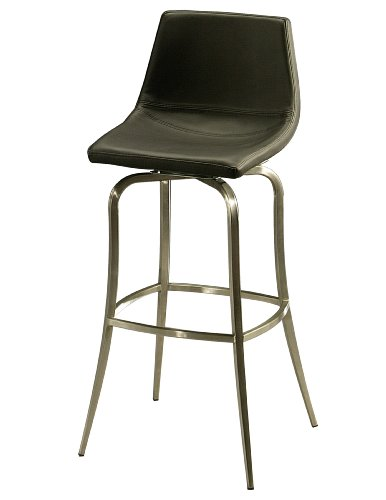 earl Swivel Stool, Stainless Steel, Counter Height (Swivel Counter Stool Pastel)