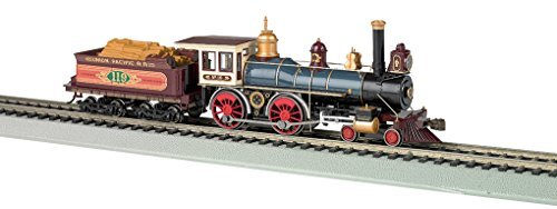 4-4-0 W/WOOD TENDER LOAD - STANDARD DC -- UNION PACIFIC for sale  Delivered anywhere in USA