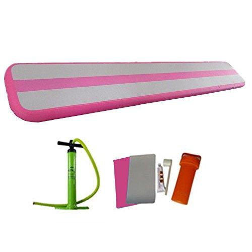 ARCADIAW Gymnastics Air Balance Beam inflatable Practice Training Mat Tumbling Track 3m x0.4m x10cm by ARCADIAW