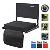Sheenive Stadium Seats for Bleacher - Wide Padded Cushion Stadium Seats Chairs